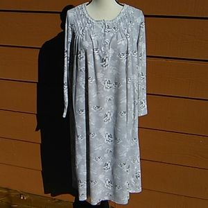 Charter Club Soft Cotton Nightgown With Slippers